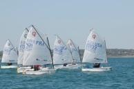 RWB Sailing upwind.